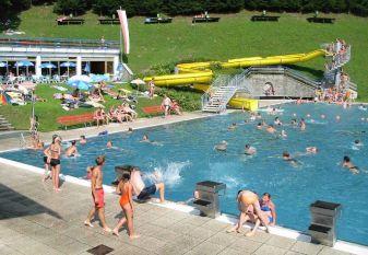 Schwimmen, Baden in Rauris