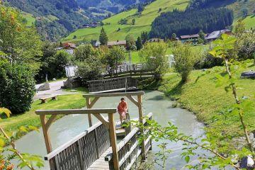 Water playground in Rauris