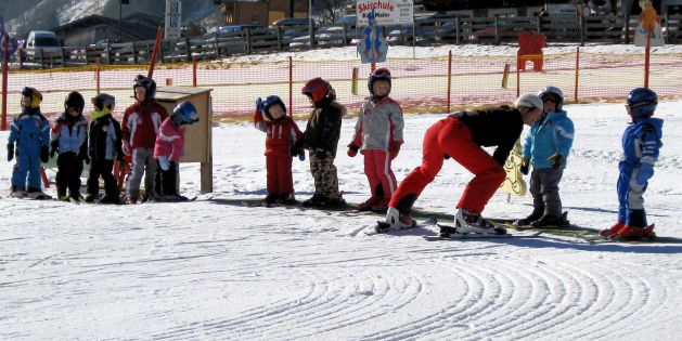 Kindersicherheit beim Skifahren