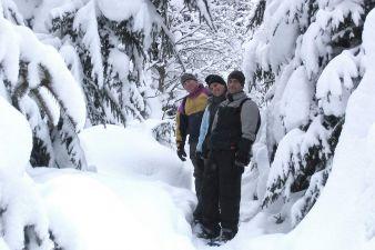 Schneeschuh Trail Kolm Saigurn
